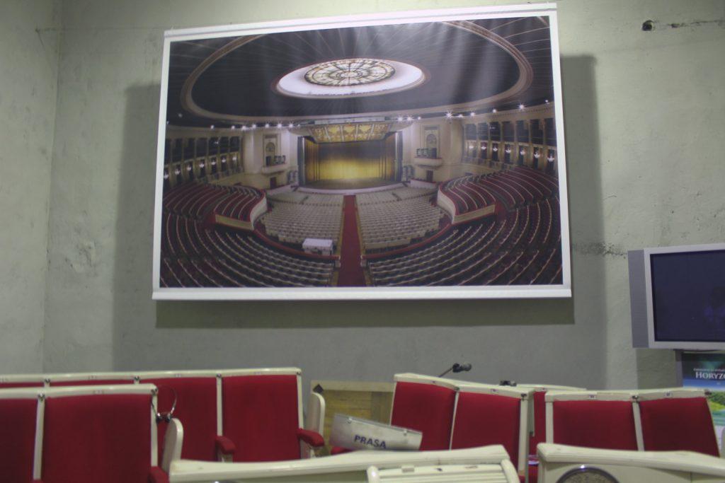 podziemia pałacu kultury i nauki sala kongresowa